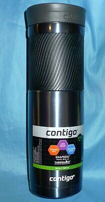 Contigo Byron Snapseal Thermalock 24 oz Travel Mug 9 hours hot 21 hours cold New
