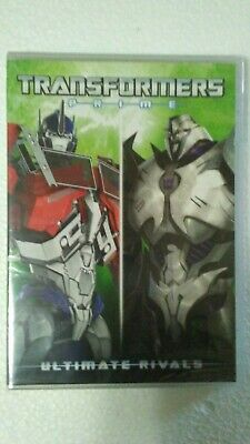 Transformers Prime - Ultimate Rivals (DVD, 2017) New/Sealed!