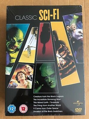 Classic Sci-Fi Collection [DVD] -  CD XMVG The Fast Free Shipping