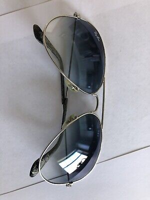 11de9f7d011c Ray Ban Aviator Sunglasses Silver Blue Lens Sunglass Hut  170