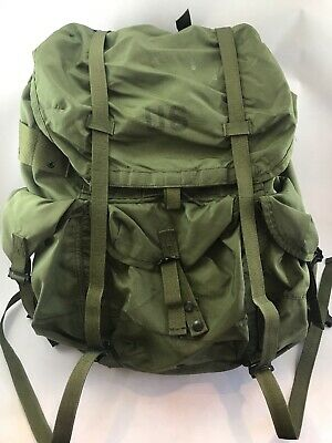 Us Military Alice Lc-1 Combat Field Pack Large Rucksack Usgi Backpack Complete