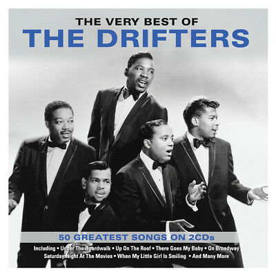 The Drifters - The Very Best Of - 50 Greatest Songs 2CD NEW/SEALED