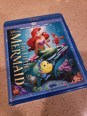 The Little Mermaid (Blu-ray/DVD Set Diamond Edition) - Like New Condition