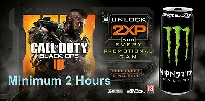 Call Of Duty Black Ops 4 - 2 HOURS Double XP 4x30 Minutes Code - Fast Delivery