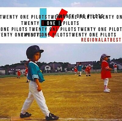 Twenty One Pilots Regional At Best 21 Pilots Rare Promo CD Collectors Item