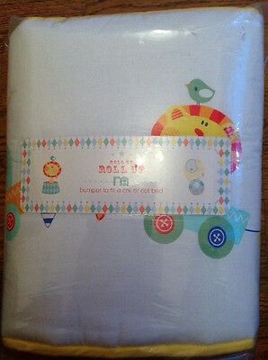 * Brand New ** Mothercare Roll Up - Roll up Bumper For A Cot Or A Cot Bed