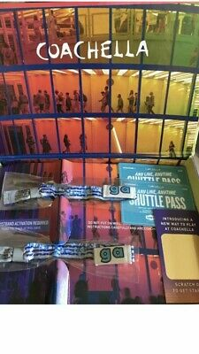 Coachella 2019 - 2 GA Wristbands W/ Shuttle passes for Weekend 1