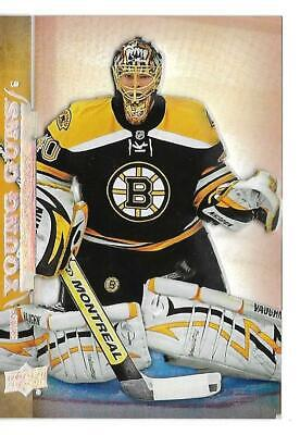 17-18 Ud Upper Deck Series 2 Hockey Tuukka Rask Young Guns Acetate Rookie # 456