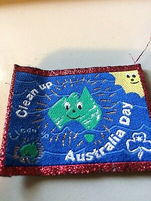 Girl Guides / Scouts Clean Up Australia Red