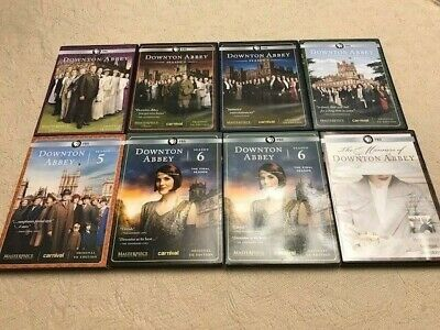 Downton Abbey Complete Series Seasons 1 2 3 4 5 6 DVD Orig UK Manners of Downton