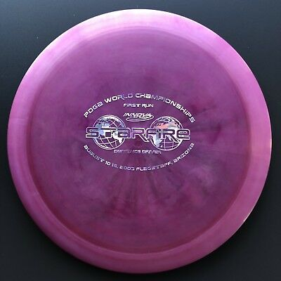 RARE Pearly Swirly First Run Champion Starfire Innova Disc Golf