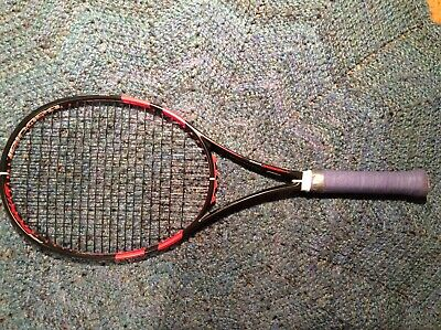 Babolat Pure Strike 100 (Black/Coral) - 4 3/8 grip