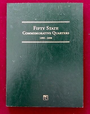 Littleton Fifty State Commemorarive Quarters Folder 1999-2008 No Coins, USA, New