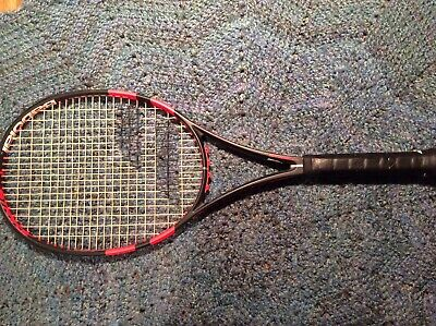 Babolat Pure Strike (Black/Coral) - 4 3/8 grip - Authorized Demo