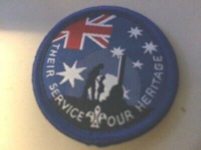 Girl Guides / Scouts Their Service Our Heritage