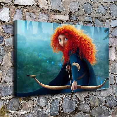 """16""""x26""""Disney HD Canvas prints Painting Home Decor Picture Room Wall art Photo"""