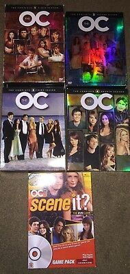 The O.C. Seasons 1, 2, 3, 4 Complete Series DVD + The O.C. SceneIt DVD Game!