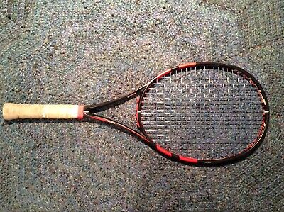 Babolat Pure Strike 100 (Black/Coral) - 4 3/8 grip - Authorized Demo