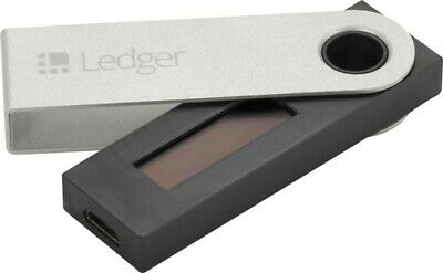 ⭐LEDGER NANO S Cryptocurrency Hardware Wallet BTC ETH XRP Altcoins⭐️ IN STOCK