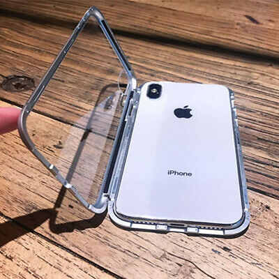 Shockrproof Case Cover for iphone XS Max XR X Magnetic Absorption Clear Premium