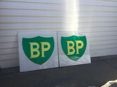 Collectible BP Perspex Sign Used