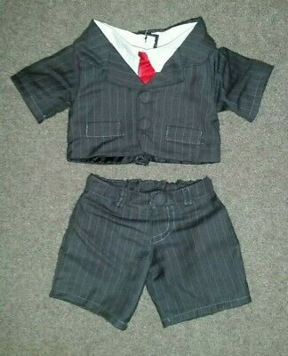 Build A Bear Bab Clothes - Pinstripe Business Suit