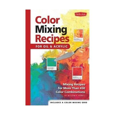 Color Mixing Recipe Cards