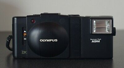 Olympus XA3 with A9M Flash – Extremely Clean Rangefinder Film camera
