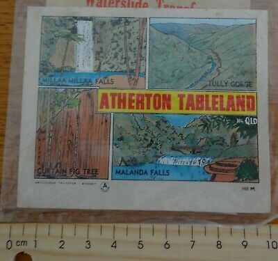 1 x OLD SCHOOL ATHERTON TABLELANDS NORTH QUEENSLAND WATERSLIDE TRANSFER