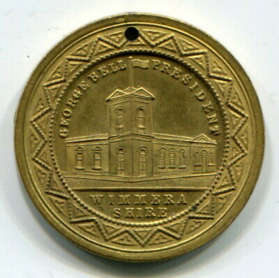 1887 Queen Victoria Golden Jubilee (Wimmera Shire) Medal, Uncirculated