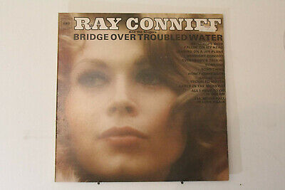 "Ray Conniff Bridge Over Troubled Water 12"" Vinyl LP 1970 CBS64020"