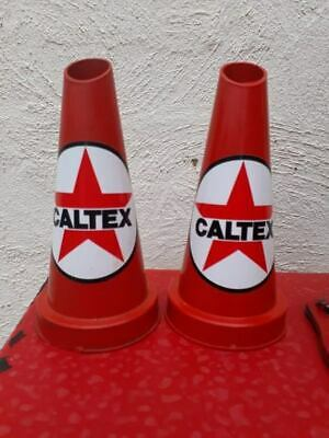 Two Caltex Oil Bottle Pourers