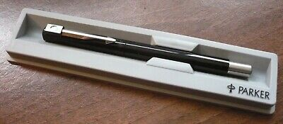 Parker Roller Ball Pen Made in UK Unusual badge.