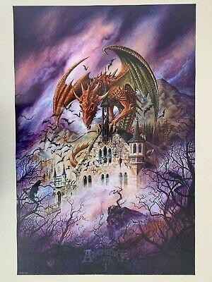 POSTER : FANTASY : LIFE vs ALCHEMY GOTHIC DEATH FREE SHIP #24-248  RP85 T