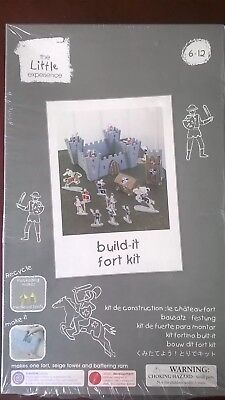 Brand New - The Little Experience - Build - It Fort Kit - 6 Years +