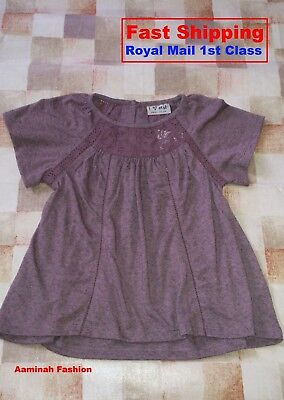 Bnwt Next Girls' Check Striped Blouse 18-24 Months