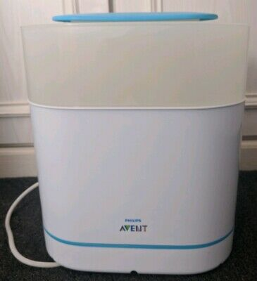 Philips Avent 3 in 1 Electric Steam Steriliser. Good condition, boxed