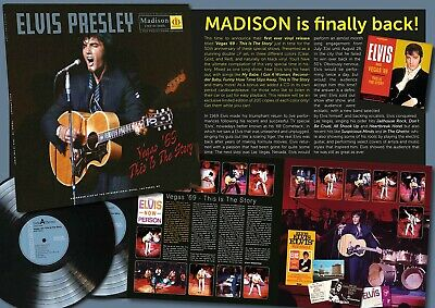 Elvis Collectors LP - Vegas '69 This Is The Story (double vinyl + 2 CD) Red Rare