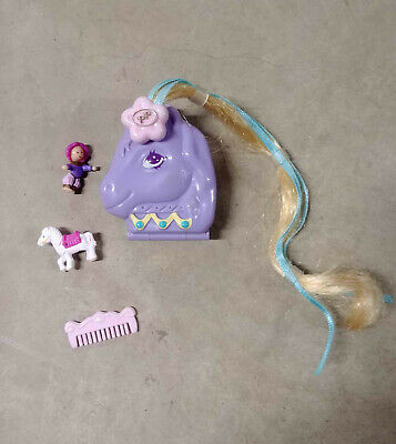 Vintage Polly Pocket Arabian Beauty 1995 Bluebird *Complete except barrette*