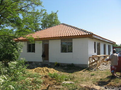 Bulgarian Bulgaria Varna house 176 sq m unfinished project  16 km to the sea