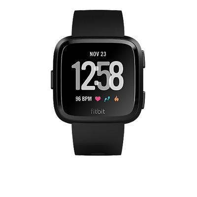 Fitbit Versa Smartwatch With Heart Rate Monitor (Pebble Only) 50% OFF Retail
