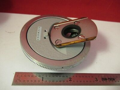 Leitz Wetzlar Germany Nosepiece Turret Microscope Part As Pictured &75-B-03