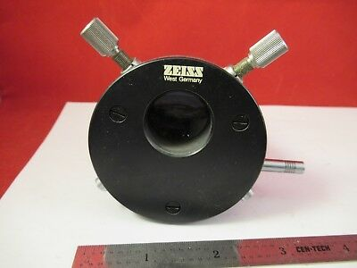 ZEISS GERMANY PHOTOMIC LENS ASSEMBLY [stuck] MICROSCOPE PART OPTICS &FT-2-11