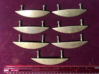 """Set of 7  Vintage Metal pulls for  Cabinet or Draw pull Handles 3"""" hole to hole"""