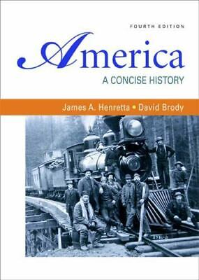 America A Concise History 4th Edition Paperback