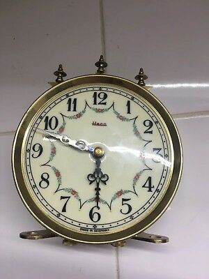 Vintage Face Movement For Heco Anniversary Clock Sold As Is!