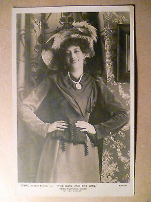 WW1 Theatre Postcard of Florence LLoyd in The Earl and The Girl, No.3199 D