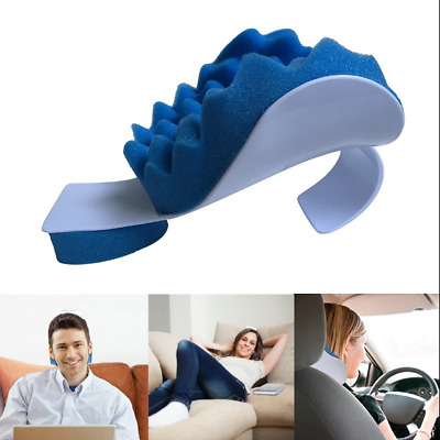 Portable Neck Pillow rest Car Cushion Travel Use Nap Massage Neck Support Office