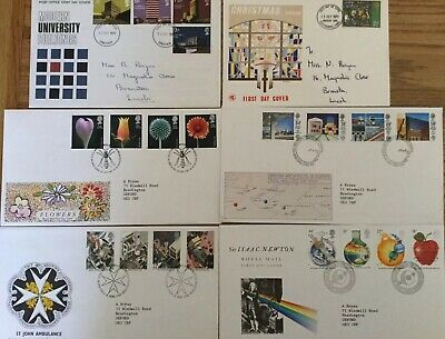 12 British First Day Covers Lot 6