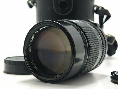 Excellent+++ Canon New FD NFD 135mm f/2.8 MF Lens w/Case from Japan
